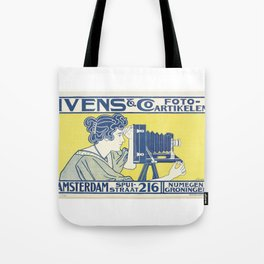 Ivens & Co Lithograph (Camera Advertisement) Tote Bag