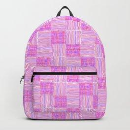 Interpretive Weaving (Raspberry Delight) Backpack