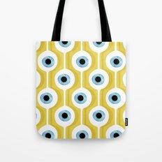 Eye Pod Yellow Tote Bag