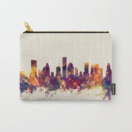 Houston Texas Skyline Carry-All Pouch