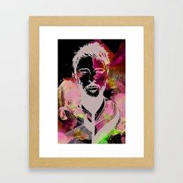 Thom Yorke Illustration Framed Art Print