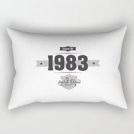 Born in 1983 Rectangular Pillow
