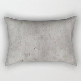 Dirty Bare Concrete Rectangular Pillow