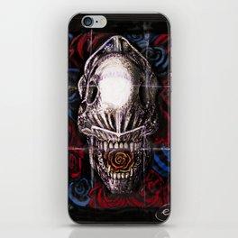 Def Alien Skull iPhone Skin