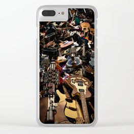 Tidal Wave of Sound Clear iPhone Case
