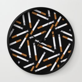 guilty pleasure Wall Clock