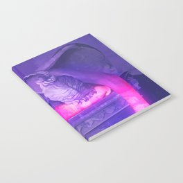 Vaporwave Statue Notebook