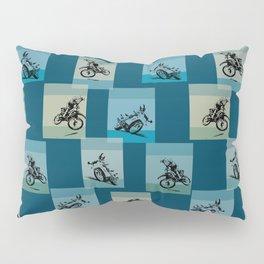 hot racingbikers Pillow Sham