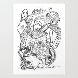 CV3 Art Print