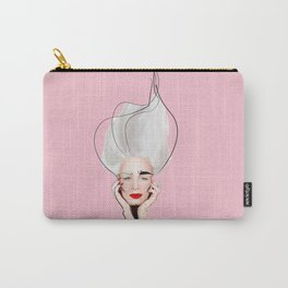 Agatha in Tickle Me Pink Carry-All Pouch