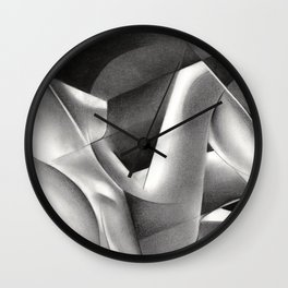 Roundism - 07-04-18 Wall Clock