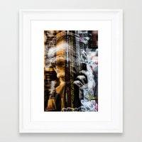 punk rock Framed Art Prints featuring Punk Rock by Studio46