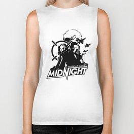 threat level midnight art Biker Tank
