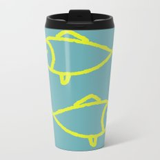 two fish Metal Travel Mug