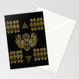 Egyptian Scarab Beetle Stationery Cards
