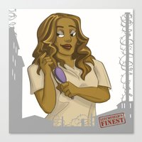 oitnb Canvas Prints featuring Sophia OITNB by StephDere