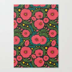 The Beautiful Pink Flowers Canvas Print