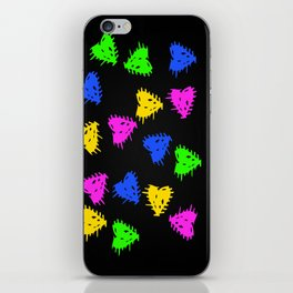 Scribbled Hearts iPhone Skin