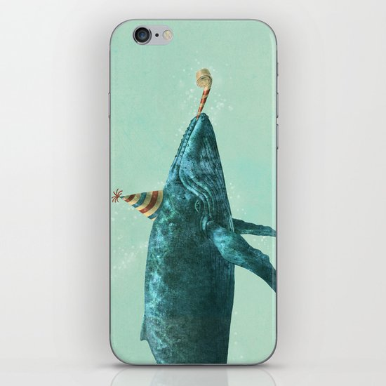 Party Whale - colour option  iPhone & iPod Skin