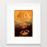 discount Framed Art Prints featuring Vintage FF Poster IX by BuddyIris213
