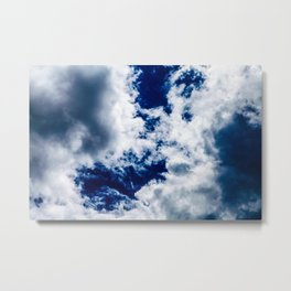 Searching Through the Clouds Metal Print