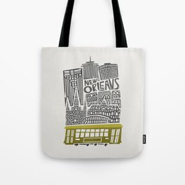 New Orleans City Cityscape Tote Bag
