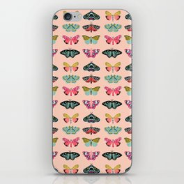 Lepidoptery No. 1 by Andrea Lauren  iPhone Skin