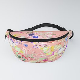 Soft bunnies pink Fanny Pack