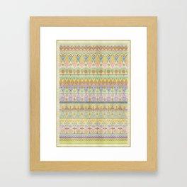 TROPIC THUNDER / PATTERN SERIES 004 Framed Art Print