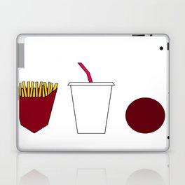 Aqua teen hunger force minimalist  Laptop & iPad Skin