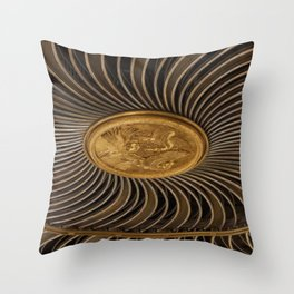Rosace in #London Throw Pillow