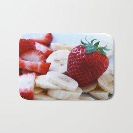 Strawberry Stillife Bath Mat