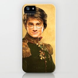 Harry General Portrait Painting | Fan Art iPhone Case