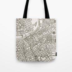 Nashville Map Tote Bag