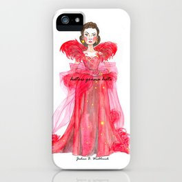 Scarlet O'hara: Haters Gonna Hate by Joshua B. Wichterich iPhone Case