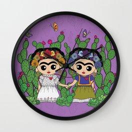 Two Fridas Wall Clock