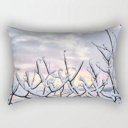Snowset Rectangular Pillow