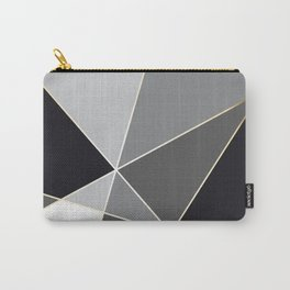 Fragments Black White Gold Carry-All Pouch