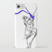 ninja iPhone & iPod Cases featuring Ninja by Future Emperor