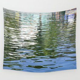 Colorful Reflections Abstract Wall Tapestry