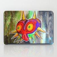 majora iPad Cases featuring Majora mask by Lyxy