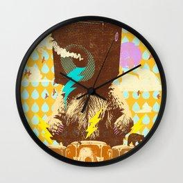 BEAR BEATS Wall Clock