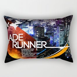 Visions of the Future :: Blade Runner Rectangular Pillow