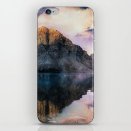 Mountain and Lake Reflection Landscape iPhone Skin
