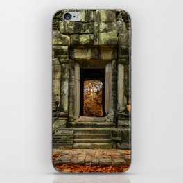 Mysterious Temple iPhone Skin