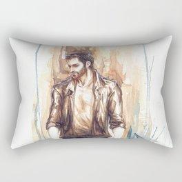 Derek Hale Rectangular Pillow