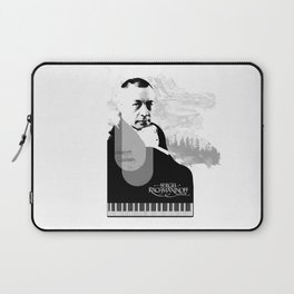 Sergei Rachmaninoff Laptop Sleeve