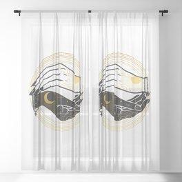 La Lune Spell Sheer Curtain