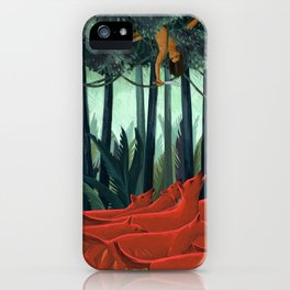 Red Dogs iPhone Case