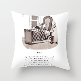 Love is Blind Limerick Throw Pillow